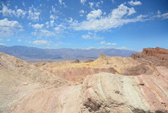 Death Valley nationalparkpanorama Arkivfoto