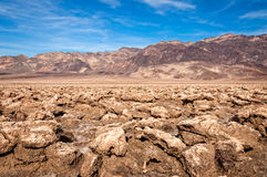 Death Valley NP, Devil's Golf Course Royalty Free Stock Photos