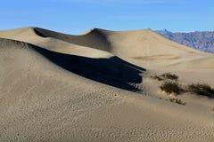 Death Valley -- Panamint Sand Dunes Stock Photo