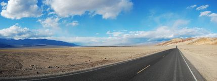 Death Valley panorama Stock Photo