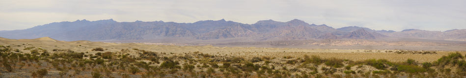 Death Valley panorama Stock Photography