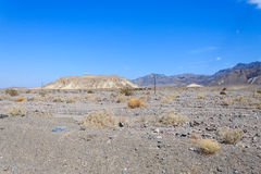 Death Valley panorama Royalty Free Stock Image