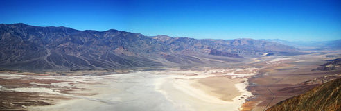 Death Valley panorama. Panorama of Death Valley National Park (California, USA Royalty Free Stock Photo