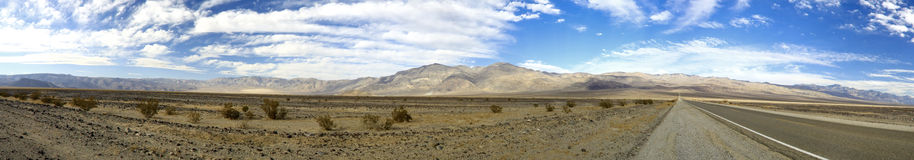Death Valley Panoramic stock photo