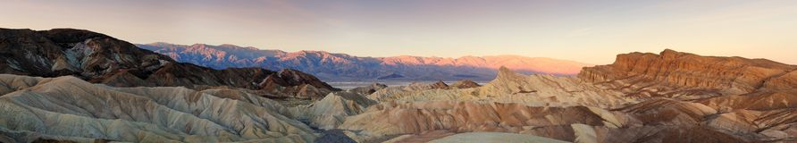 Death Valley panoramic Royalty Free Stock Images