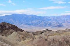 Death Valley - point de Zabriskie images stock