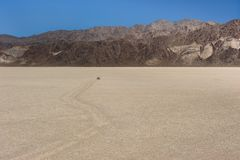 Death Valley Race Track Royalty Free Stock Photography