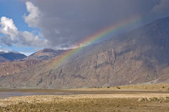 Death Valley Rainbow Stock Photography