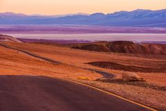 Death Valley Raw Scenery Stock Images