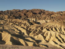 Death valley ridges landscape Stock Image