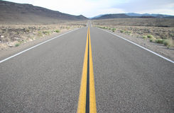 Death Valley Road Stock Photos