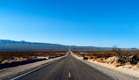 Death Valley. The road through death valley Stock Photography