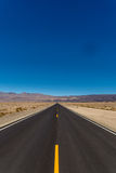 Death Valley Road Royalty Free Stock Photos
