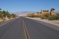 Death valley road Stock Image