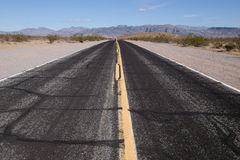 Death valley road Royalty Free Stock Image