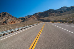 Death Valley road Stock Photography