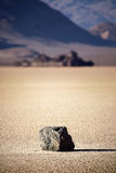 Death Valley Rock On Lake Bed Royalty Free Stock Photos