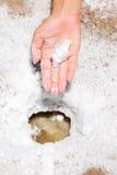Death Valley salt Stock Images