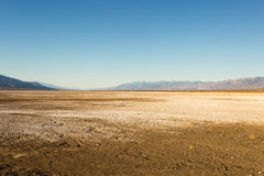 Death Valley Salt Flat Formations Stock Photos