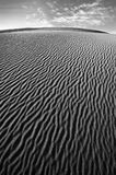 Death Valley Sand Dune. Wind swept sand creating ridges on a Death Valley sand dune in California Royalty Free Stock Photography