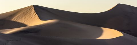 Death Valley Sand Dunes Stock Photo