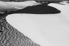 Death Valley Sand Dunes Royalty Free Stock Photos