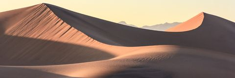 Death Valley Sand Dunes Stock Images