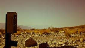 Death Valley sopra Immagini Stock Libere da Diritti