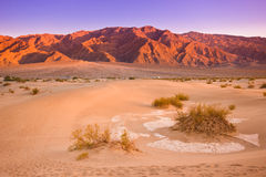 Death Valley Sunset Royalty Free Stock Images
