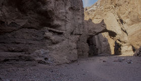 Death Valley Tunnel Royalty Free Stock Photo