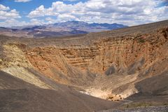 Death Valley Ubehebe Crater Royalty Free Stock Image