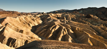 Death Valley view Royalty Free Stock Images