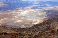 Death Valley view Stock Images