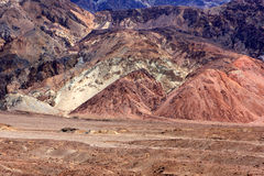 Death Valley view Royalty Free Stock Photo