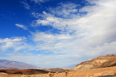 Death Valley view Stock Photography
