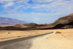 Death Valley view Royalty Free Stock Photos