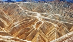 Death valley zabrinski point Stock Photos