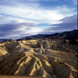 Death Valley Zabriske Point. A view of a world within itself Stock Photography