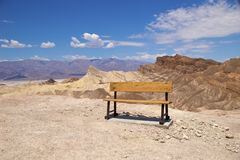 Death Valley Zabriskie Point Royalty Free Stock Photography