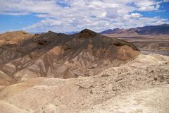 Death Valley Zabriskie Point Stock Photos