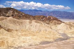 Death Valley Zabriskie Point Stock Images