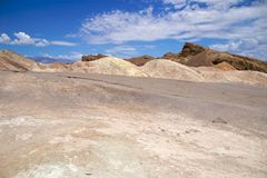 Death Valley Zabriskie Point Stock Image