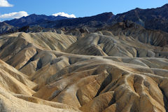 Death Valley at Zabriskie Point Royalty Free Stock Photography