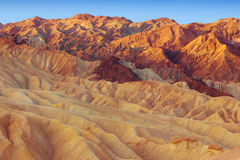 Death Valley Zabriskie Point Stock Photos