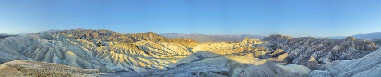 Death Valley Zabriskie Point Royalty Free Stock Photo