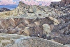 Death Valley Zabriskie Point Stock Photo