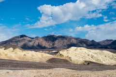 Death Valley. Zabriskie Point. Zabriskie Point is a part of Amargosa Range located in east of Death Valley stock images