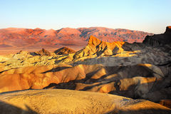 Death Valley, Zabriskie Point Sunrise Royalty Free Stock Images