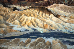 Death Valley Zabriskie Point Stock Photography