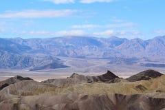 Death Valley - Zabriskie punkt royaltyfri foto